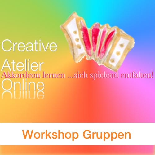 Gruppen Workshops für Akkordeon mit Carmen Hey