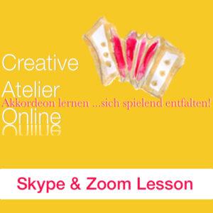 Skype Akkordeon Unterricht